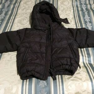 H&M Coat Size 12-18 months Puffer Brown